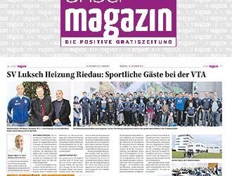 SV Luksch Heizung Riedau: Sportliche Gäste bei der VTA