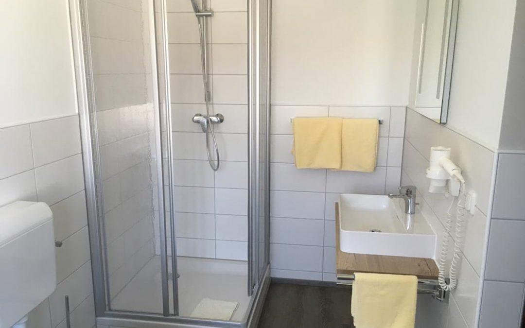 Autzinger Gasthof, Sanierung Gästezimmer