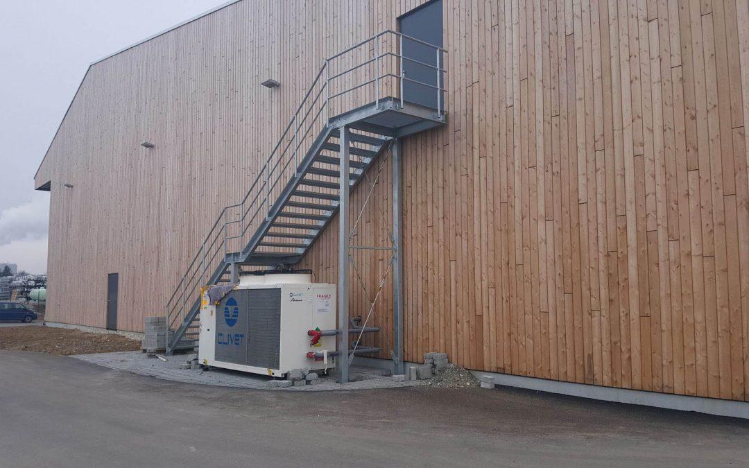 Fa. Dictum Neubau Produktion und Lagerhallen