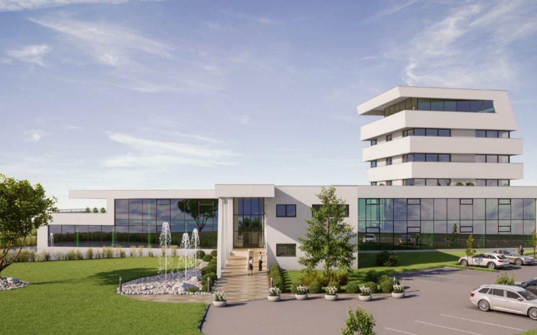 VTA Zubau Büroturm