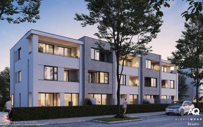 Neubau 22 Reihenhäuser Perlach