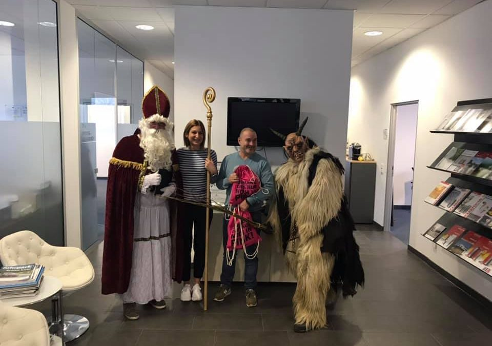 Auch bei uns war der Nikolaus zu Besuch