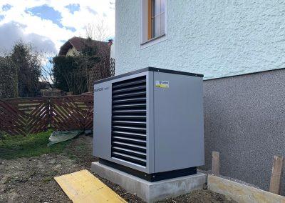 Luftwärmepumpe, Taiskirchen