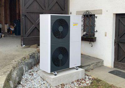 Sanierung mit Luftwärmepumpe, Waizenkirchen